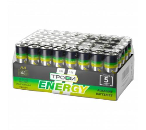 Батарейка ТРОФИ            LR6  Alkaline  (    40)(40)(720) ECO 40 bulk