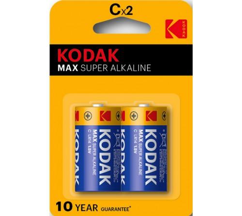 Батарейка KODAK             LR-14  (2BL)(20)(200)  Max