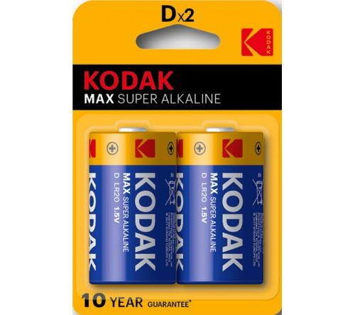 KODAK              LR-20  (2BL)(20)(100)  Max