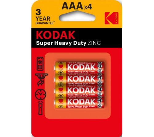 KODAK             R03  (4BL)(48)(240)  Блистер