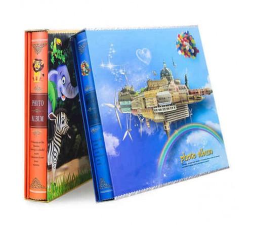 Ф/Альбом Магн. 20 м.л. (H6004B)  в подарочной коробке, детский, бум. листы  28,9*29,2 см                     (18)