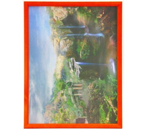 Рамка Сосна багет 7N цветной, крашеный  Альфа-Нева
