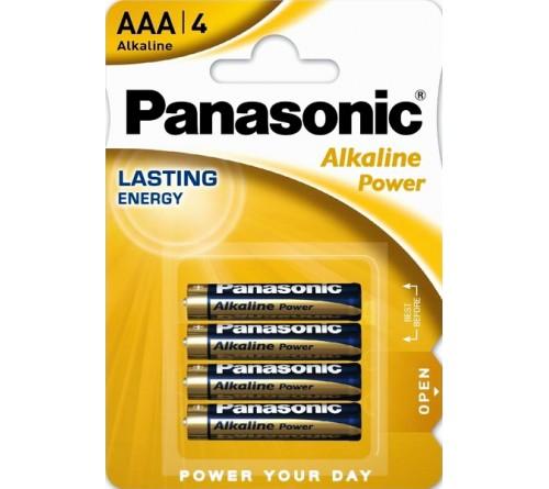 Батарейка PANASONIC    LR03  Alkaline  (  4BL)(48)(240) Alkaline Power