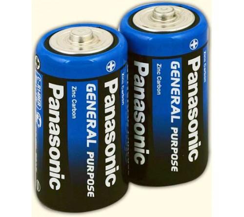 Батарейка PANASONIC    R14  (    2)(24)(480)