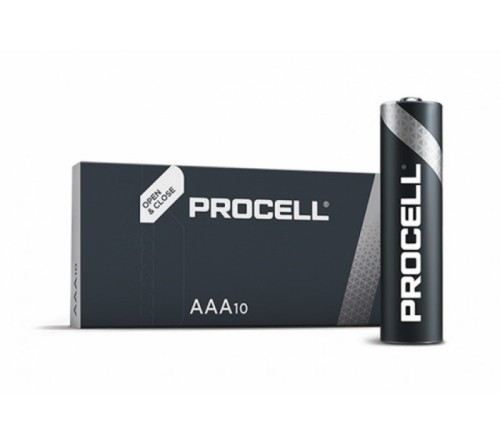 Батарейка DURACELL      LR03  Alkaline  BOX10 Procell (Industrial)      (10/100)