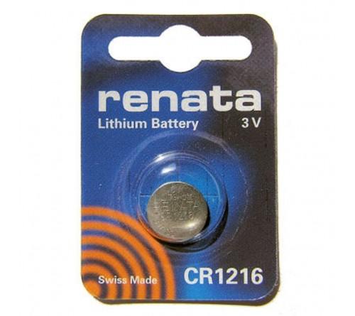 Батарейка RENATA           CR1216  ( 1BL)( 10)(100)