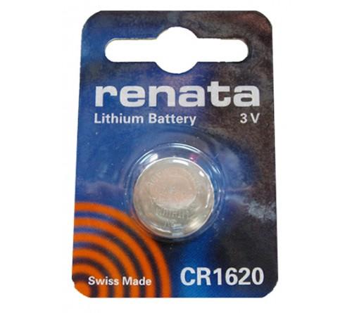 Батарейка RENATA           CR1620  ( 1BL)( 10)(100)