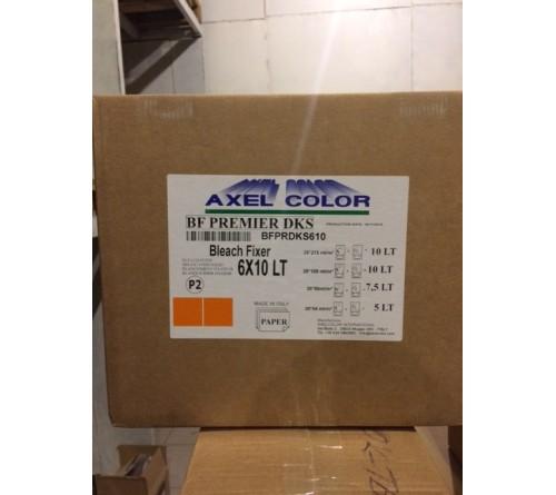 Химия  Axel  ( LR P2 )   UNIVERSAL BLEACH FIX MONOPART 6 флаконов по 2 литра ( или 6х5(30) литров  )