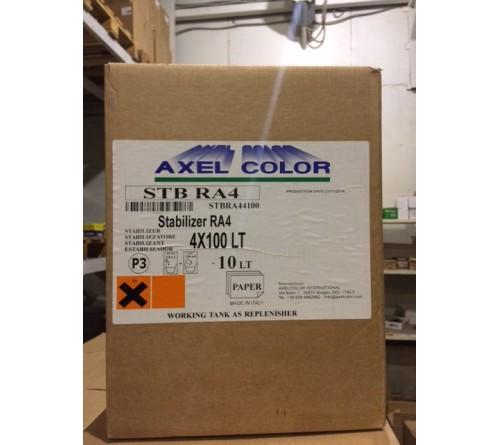 Химия  Axel  ( LR P3 )   Axel STABILIZER RA4 4 X 100 LT