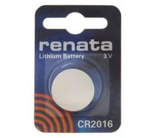 Батарейка RENATA           CR2016  ( 1BL)( 10)(100)