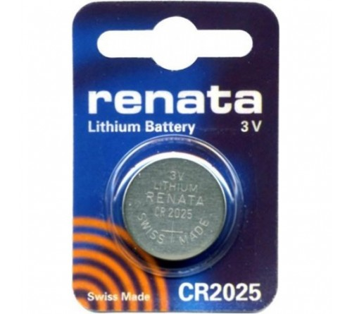Батарейка RENATA           CR2025  ( 1BL)( 10)(100)