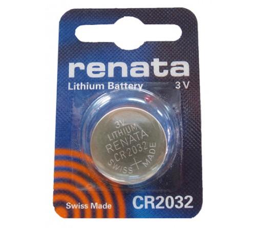 Батарейка RENATA           CR2032  ( 1BL)( 10)(100)