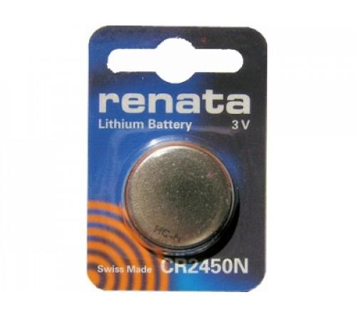 Батарейка RENATA           CR2450  ( 1BL)( 10)(100)