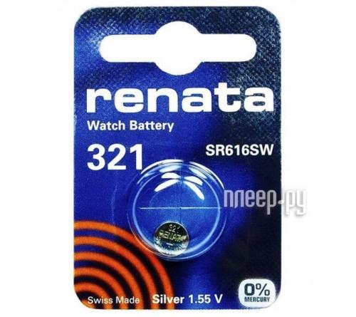 Батарейка RENATA    R 321, SR 616 SW    (10/100)