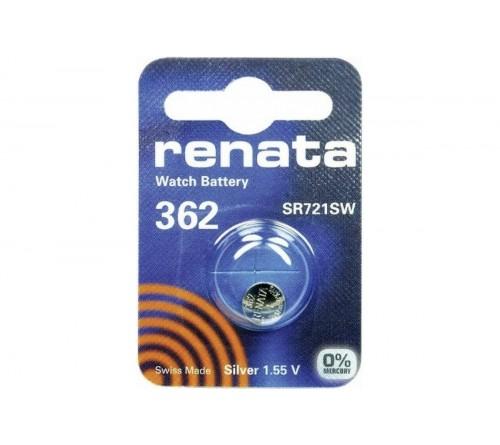 Батарейка RENATA    R362, SR 721 SW  ( G11)   (10/100)