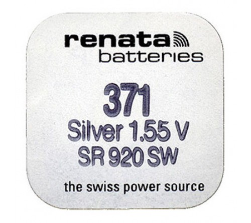 Батарейка RENATA    R371  (G6) SR920  (10/100)