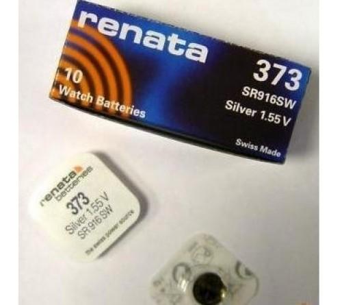 Батарейка RENATA    R373, SR 916 SW   (10/100)