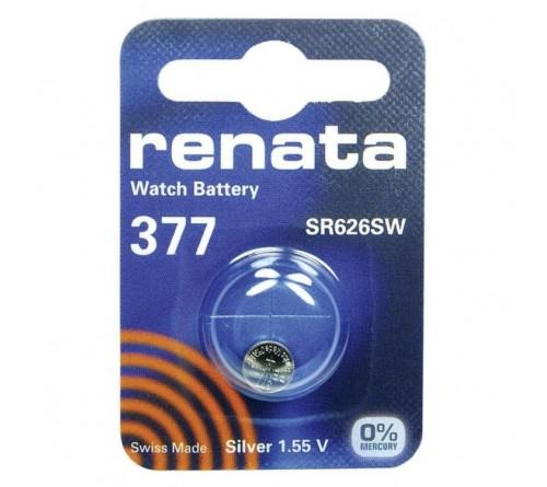 Батарейка RENATA    R377  (G4)  (10/100)