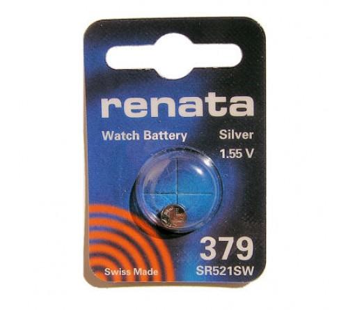 Батарейка RENATA    R379  (G0)  SR521  (10/100)