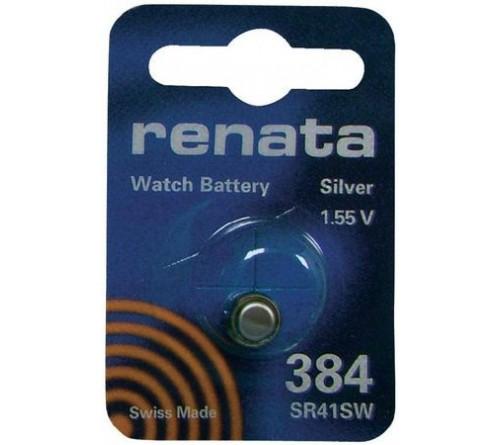 Батарейка RENATA    R384, SR 41 SW   (10/100)