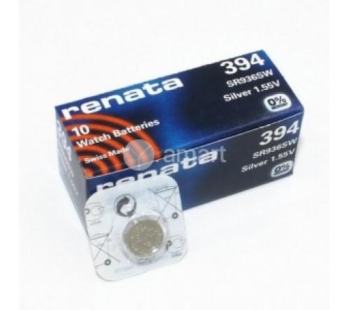 Батарейка RENATA    R394 SR936  SW  (G9)  (10/100)