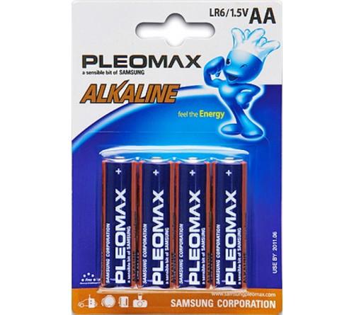 Батарейка SAMSUNG       LR6  Alkaline  (  4BL)(40)(400)  Pleomax
