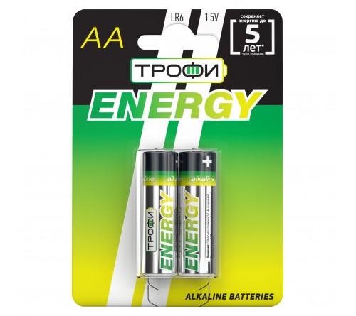 Батарейка ТРОФИ            LR6  Alkaline  (  2BL)(20)(360) ЕСО
