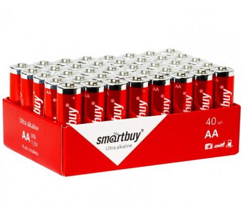 Батарейка SMARTBUY     LR6  Alkaline  (    40)(40)(720)
