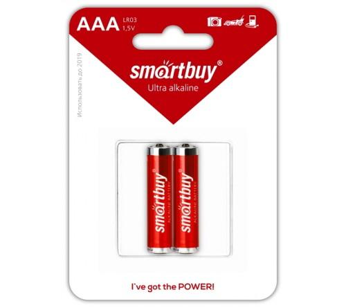 Батарейка SMARTBUY     LR03  Alkaline  (  2BL)(24)(240)