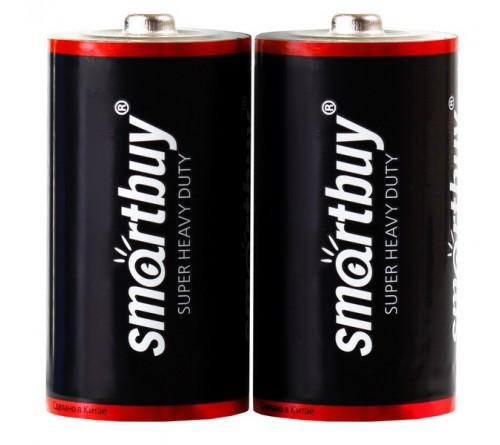 Батарейка SMARTBUY    R20  (    2)(24)(288)/(2BL)(24)(  96)
