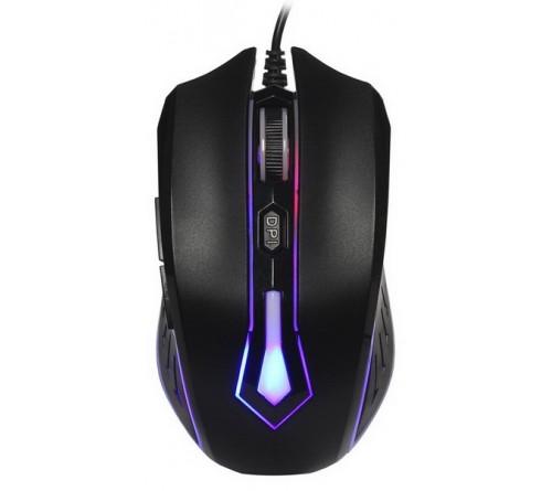Мышь Smart Buy  712 G-K                  (USB, 2000dpi,Optical) Black,Игровая