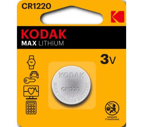 Батарейка KODAK              CR1220  ( 1BL)(  60)(120)