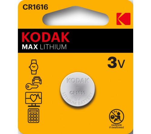 Батарейка KODAK              CR1616  ( 1BL)(  60)(120)