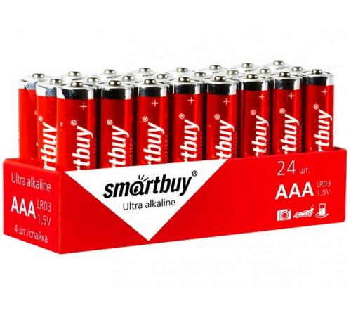Батарейка SMARTBUY     LR03  Alkaline  (    24)(24)(480)