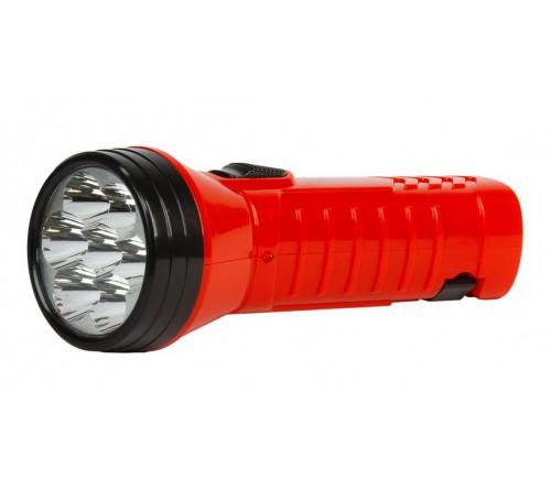 Фонарь Smartbuy SBF-  95-R, красный. Аккумуляторный светодиодный фонарь. 7LED. Аккумулятор 4V 0.5Ah. Подзарядка от сети 220 V