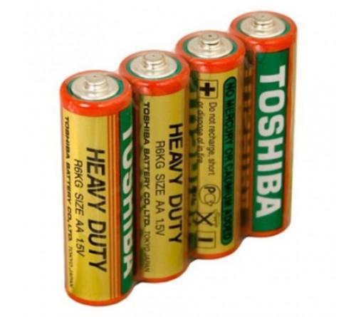 Батарейка TOSHIBA          R6  (    4)(40)(1000)