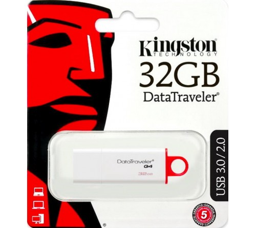 USB Флеш-Драйв  32Gb  Kingston  DTI G4 USB 3.0