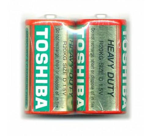 Батарейка TOSHIBA        R20  (    2)(20)(200)