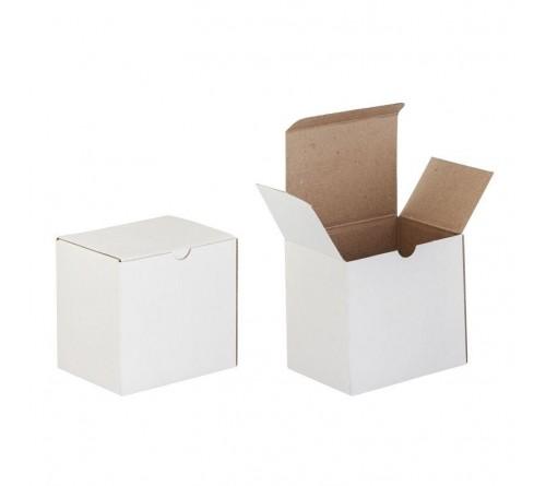 Коробка под кружку белая