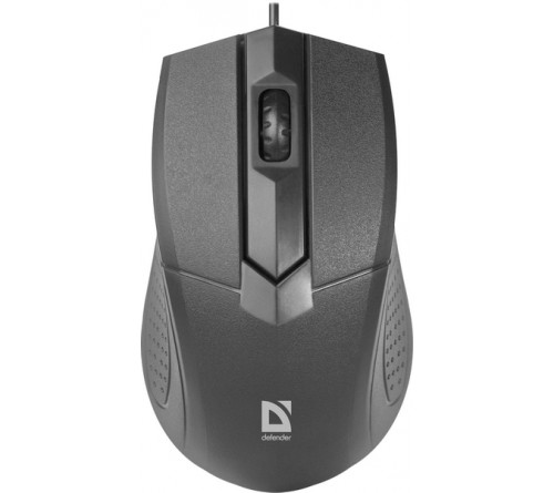 Мышь DEFENDER    270 Optimum     (USB,  1000dpi,Optical) Black,Коробка