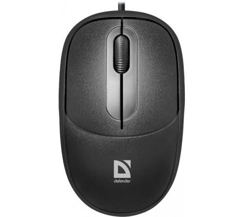 Мышь DEFENDER    980 Datum        (USB, 1000dpi,Optical) Black