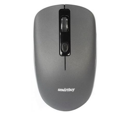 Мышь Smart Buy  345 AG-G               (Nano,1000dpi,Optical) Grey,Беспроводная,Блистер