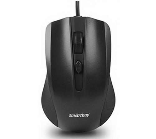 Мышь Smart Buy  352 K   ONE          (USB,   800dpi,Optical) Black