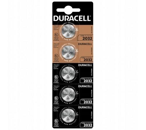 Батарейка DURACELL    CR2032 BL 5  ( 20/200)
