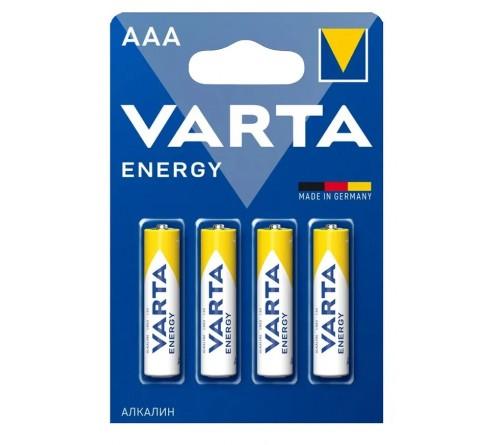 Батарейка VARTA             LR03  Alkaline  (  4BL)(40)(200)    Energy