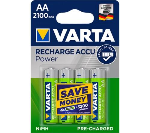 Аккумулятор VARTA        R6     (2100mAh)(4BL)(40)(400)