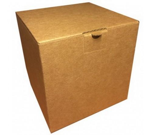 Подарочная коробка для кружки c блестками Желтая (1008) арт 10774-1Y