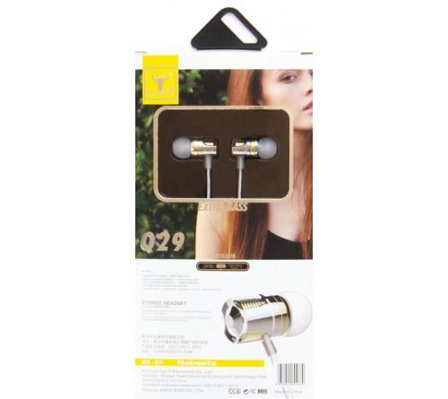 Гарнитура Bsbeste Q 29                      (Вакуумная)             (10) Chrome-Gold  HiFi ДУ Регулятор Громкости