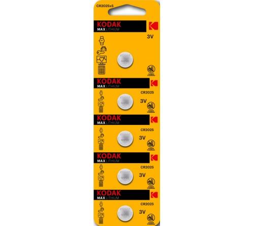 Батарейка KODAK              CR2025  ( 5BL)(  60)(360)