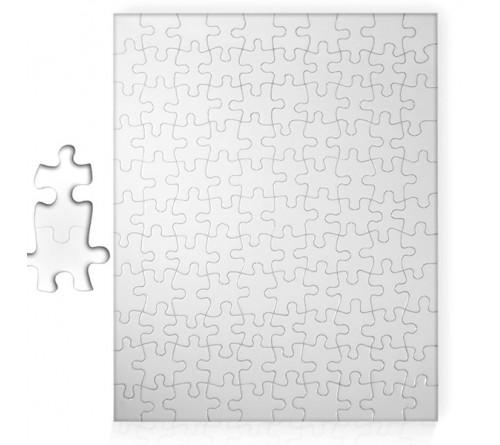 Пазл картонный А5 13х18 см 63 элемента